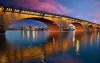 The London Bridge in Lake Havasu