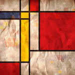 """Mondrian Inspired"" by ModernArtPrints"
