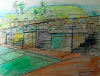 Sketch of Sports Area Design in the Mountains