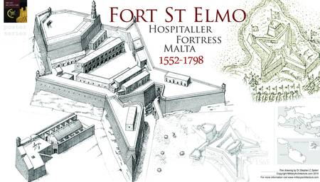 Fort St. Elmo, Malta by Military Architecture