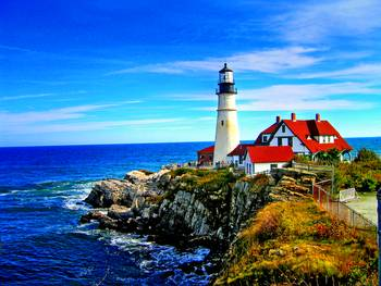 Portland Head Light in Maine by New Yorkled