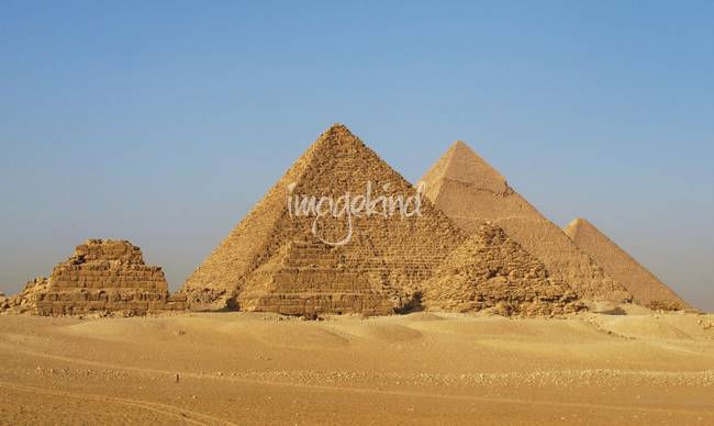 Ancient Egyptian Pyramids of Giza