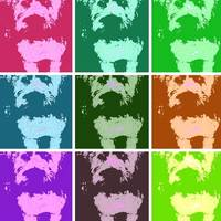 Wheaton Terrier Pop Art