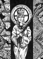 Saint Dymphna, Patroness of Mentally Ill