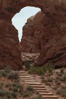Stairway II, Arches National Monument
