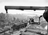 Bay Bridge Construction by WorldWide Archive
