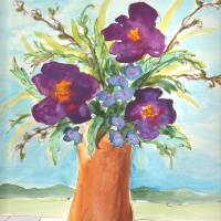 Flowers for Marguerite Art Prints & Posters by Jennifer Visscher