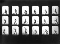 Athlete Swinging A Pick by Muybridge