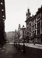 Palace Hotel from Montgomery St. c1880 by WorldWide Archive
