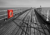 Along Whitby Pier