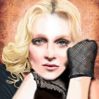 Melissa Totten as Madonna Art Prints & Posters by Leaf Scott