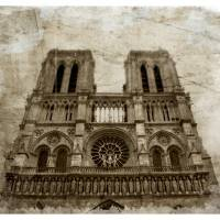 Notre Dame - Paris, France Art Prints & Posters by daniel vineyard