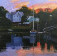 Sunset, Pawtuxet Cove