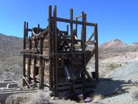 Old Gold Mine in Nv. desert