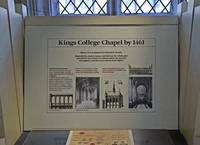 King's College Chapel Exhibition 16 by Priscilla Turner