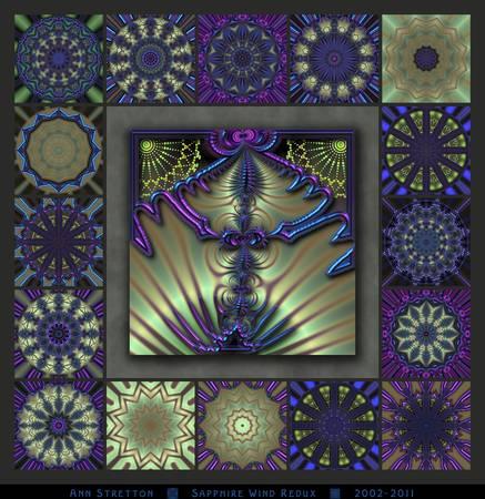 Sapphire Wind Redux by Ann Stretton