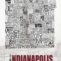 """""""Indianapolis Neighborhoods - Poster 1"""" by RossPhotoWorks"""