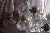 Oil Lamp Collection, Scofield Ranch