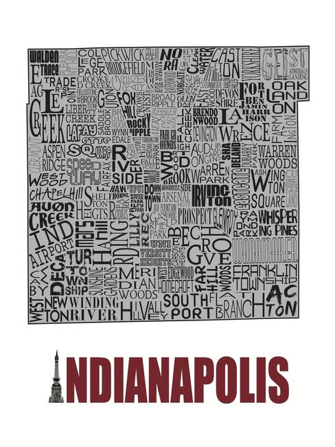 Indianapolis Neighborhoods - Poster 4