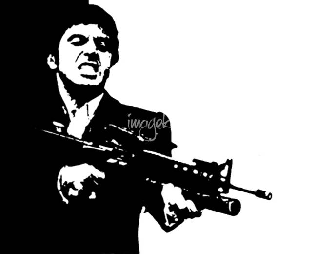 Stunning Quot Scarface Quot Artwork For Sale On Fine Art Prints