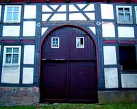 German barn door