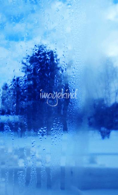Winter Through Steamed Glass