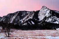 New Years Flatirons