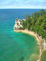 Pictured Rocks in Munising, Michigan