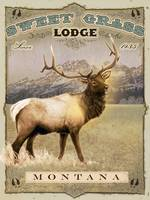 some old lodge in montana