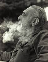 Hermit George Flemming Smoking