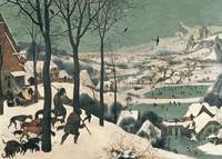 Hunters in the Snow - January, 1565, by Breugel