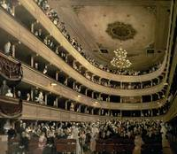 Auditorium of the Old Castle Theatre, Klimt, 1888
