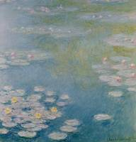 Nympheas at Giverny, 1908 by Claude Monet