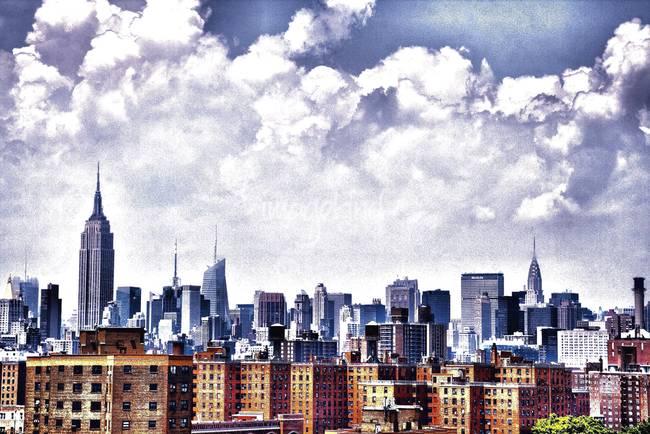 New york skyline by edcastellanos 2010