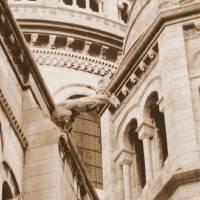 Sacre Coeur Gargoyle Art Prints & Posters by Andrea Filkins