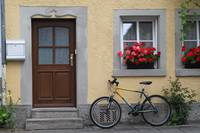 Bike und Building - Rothenburg ob der Tauber, Germ