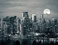 Vancouver Moonrise