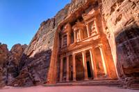The Treasury at Sunrise - Petra ,Jordan