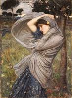 Boreas, 1903, by John Waterhouse
