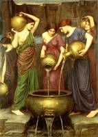 Danaides, 1904, by John Waterhouse
