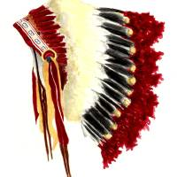 """Native American Headdress"" by vigliotti"