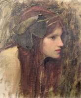 Study for a Naiad by John Waterhouse