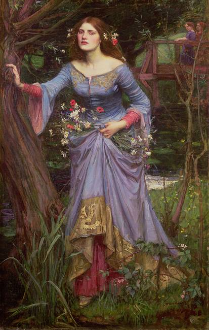 Ophelia, 1910, by John Waterhouse