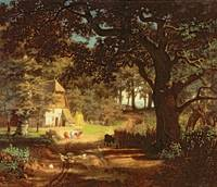 The House in the Woods, by Albert Bierstadt