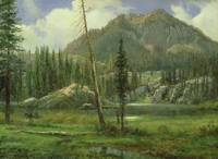 Sierra Nevada Mountains by Albert Bierstadt
