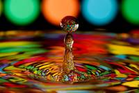 Disco Ball Water Drop