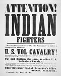 Cavalry Recruitment Vintage Poster