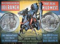 Wild West Show Vintage Poster ft Chief Iron Tail