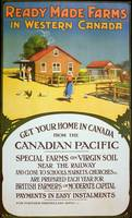Vintage Poster for Canadian 'Ready Made Farms'