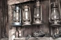 Firehouse Lanterns, Ghost Town of Bodie